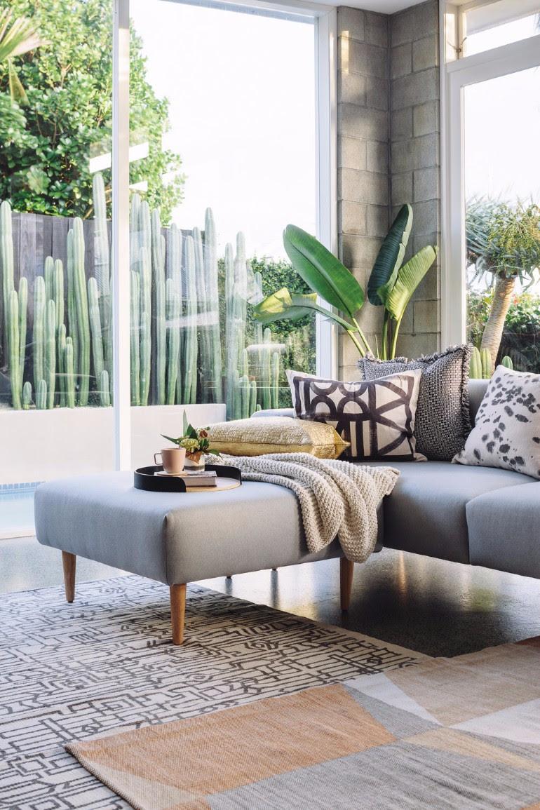 Living Room Ideas With Fresh Plants - Living Room Ideas
