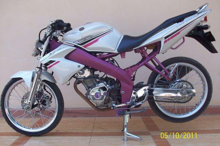 Tempat Modif Yamaha Vixion Di Jakarta Gambar Modifikasi Honda
