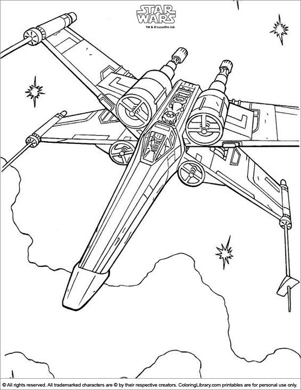 110 Dessins De Coloriage Star Wars à Imprimer Sur Laguerchecom Page 3