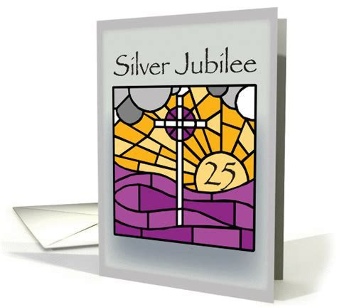 Silver Jubilee Religious Life card (457781)