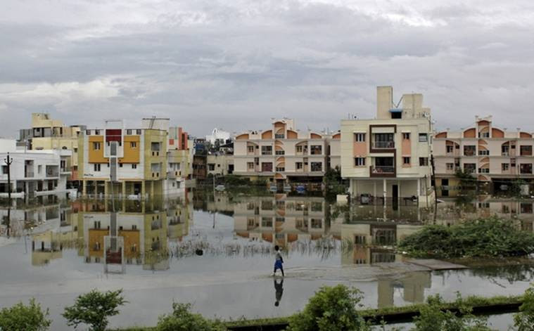 The heaviest rainfall in over a century caused massive flooding across the Indian state of Tamil Nadu, driving thousands from their homes, shutting auto factories and paralysing the airport in Chennai. Reuters