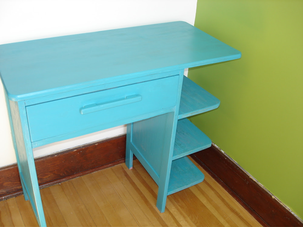 Desk in Craft room