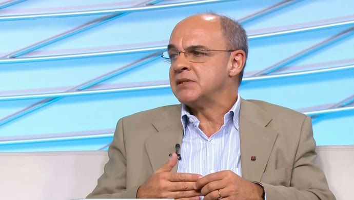 Eduardo Bandeira de Mello presidente Flamengo (Foto: Reprodução SporTV)