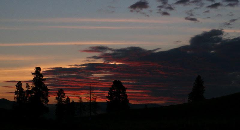 Sunrise Yellowstone