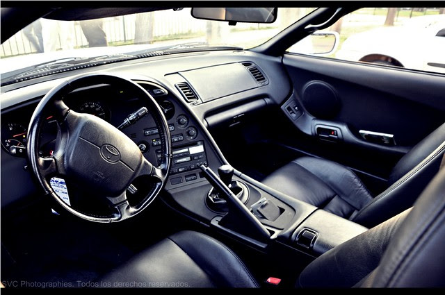 Toyota supra (interior)