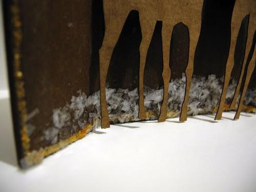 Winter Deer Shrine (detail)