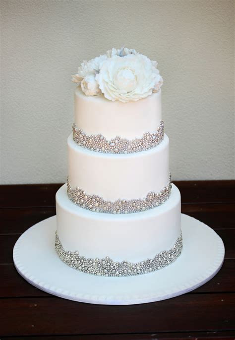 My Fourth Wedding Cake And One I Thoroughly Enjoyed Making
