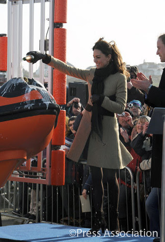 Prince William and Catherine Middleton visit Anglesey