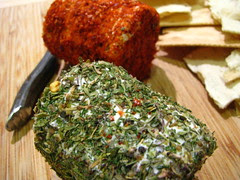 Herb and Spiced Goat Cheese
