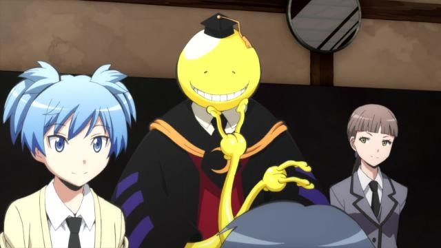 jegeekjeplay actu anime assassination classroom saison 2 vostfr out. Black Bedroom Furniture Sets. Home Design Ideas