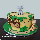 Jungle Animal Cakes   Peche Petite