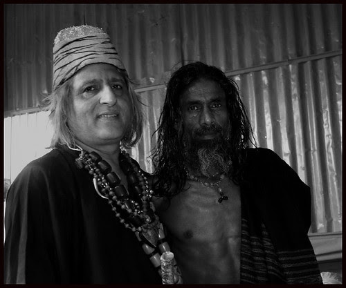 Late Barsati Baba And Me At Haji Malang 2008 by firoze shakir photographerno1