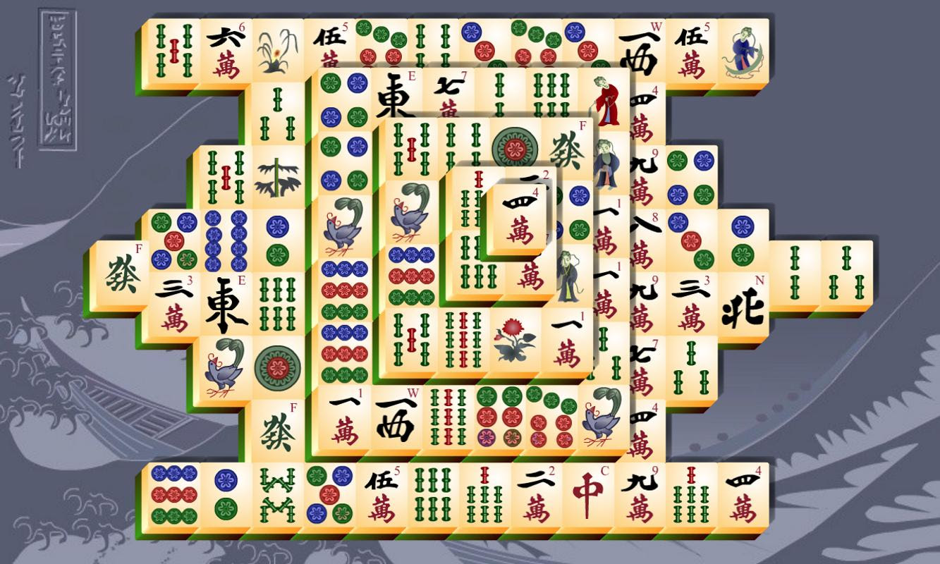 Mahjong Fortuna 2 Online Spielen