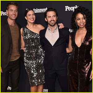 'This Is Us' Cast Celebrates Upcoming Season 2 at EW & People's Upfronts Party
