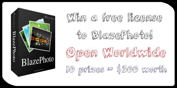 Win Blazephoto license