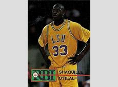 Shaquille O'neal College Card   eBay