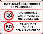 Placas de Fiscalizaçao eletronica 11