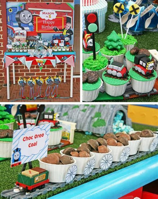 Kara's Party Ideas Thomas Train Birthday Party Planning
