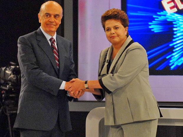 Serra e Dilma