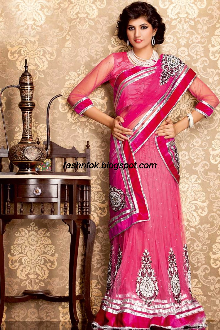 Bridal-Wedding-Wear-Sari-Lehenga-Choli-Latest-Brides-Outfit-for-Girls-Women-2013-15