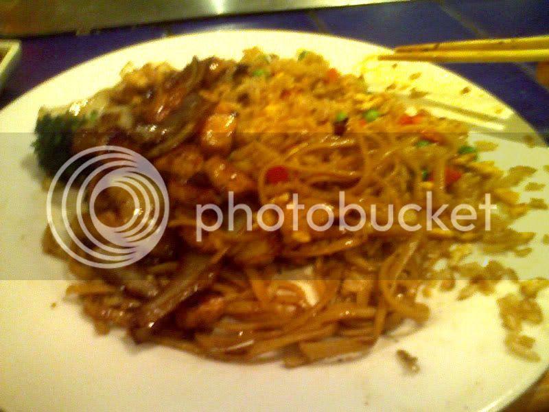 Kobe Chicken, Shrimp, & Stuff