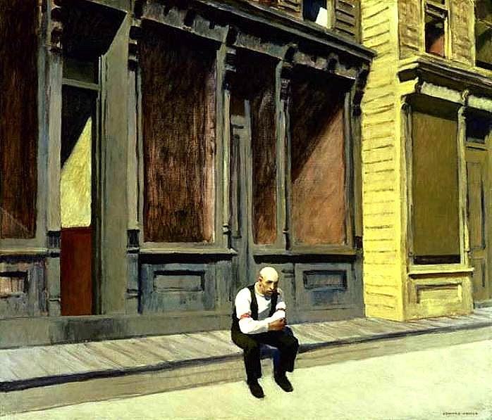 Edward Hopper - Sunday - 1926 - The Phillips Collection, Washington D.C.