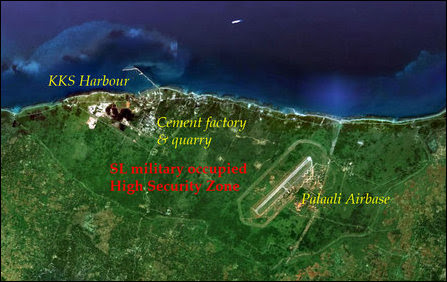 Palaali, KKS, SL military occupied HSZ
