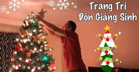 Trang Trí Đồ Giáng Sinh Cây Thông Noel Trong Nhà - Cuộc Sống Ở Mỹ - Co3nho 301