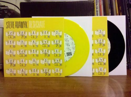 "Steve Adamyk Band - Desecrate 7"" - Yellow Vinyl /100 & Black Vinyl / 400"