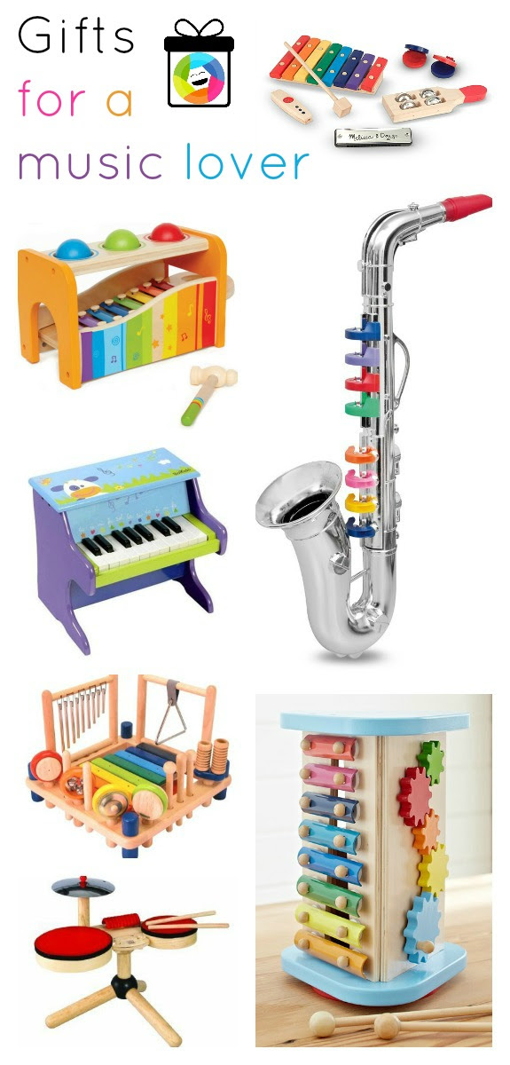 Lots of great gift ideas for little music lovers