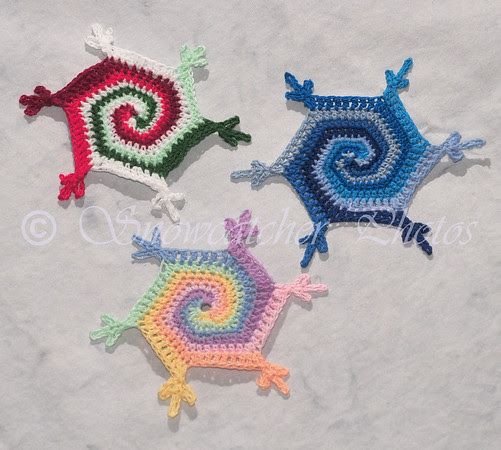 Lollipop Snowflakes