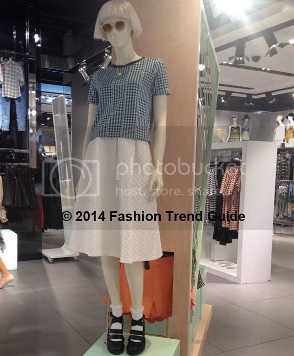 Topshop Visual merchandising