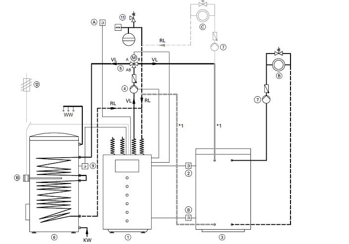 installation climatisation gainable prix vitocal 100a. Black Bedroom Furniture Sets. Home Design Ideas