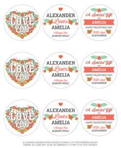 Valentines, Valentines day and Printables on Pinterest