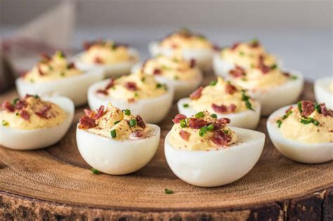 bacon cream cheese deviled eggs