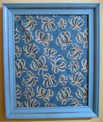 Daily Craft Framed Fabric Covered Cork Board