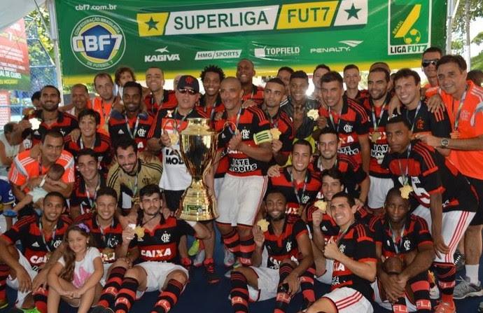 Flamengo torna-se tricampeão brasileiro no Fut 7