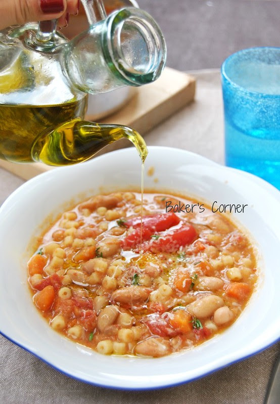 Summer Pasta and Fagioli