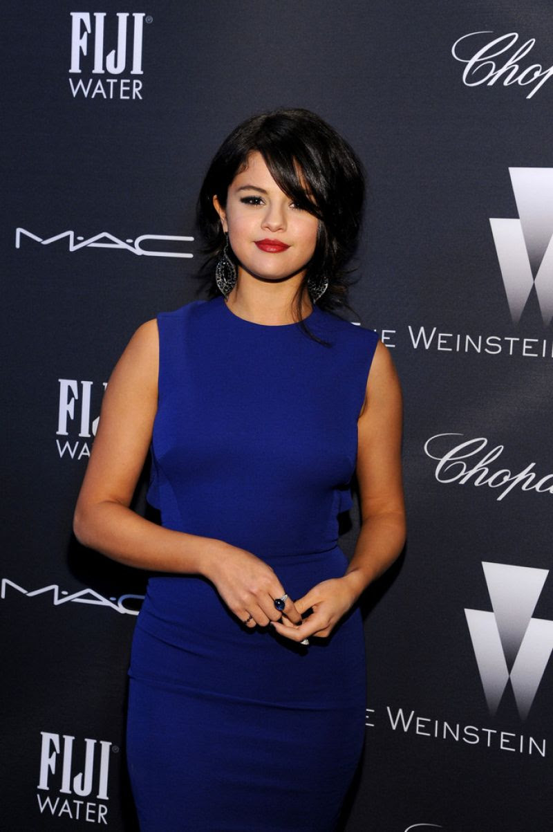 SELENA GOMEZ at Weinstein Company
