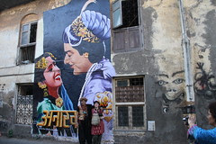 Manuela and the Beggar Poet of Rustic Bandra by firoze shakir photographerno1