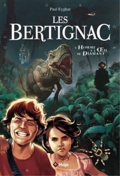 Couverture Les Bertignac, tome 1 : L'homme à l'oeil de diamant
