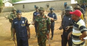 File photo: Security in Bimbilla