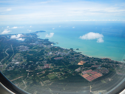 Malaysia from the Plane