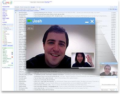 Gmail支持语音和视频聊天