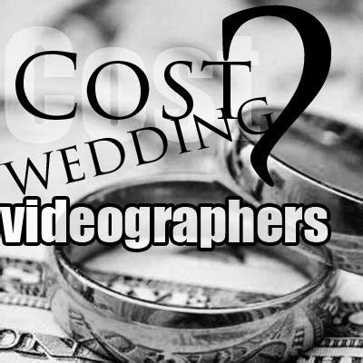 How much does a wedding videographer cost in UK for 2019?
