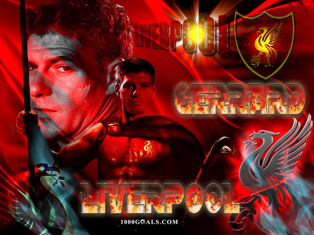 Top Football Players Steven Gerrard Wallpaper