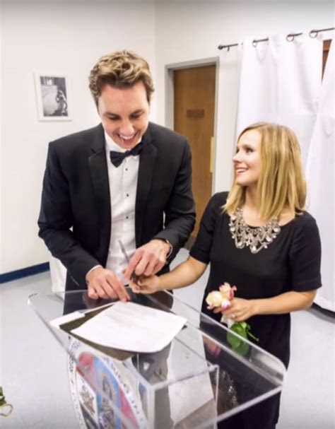 Kristen Bell Shares Another Wedding Video on Valentine's Day