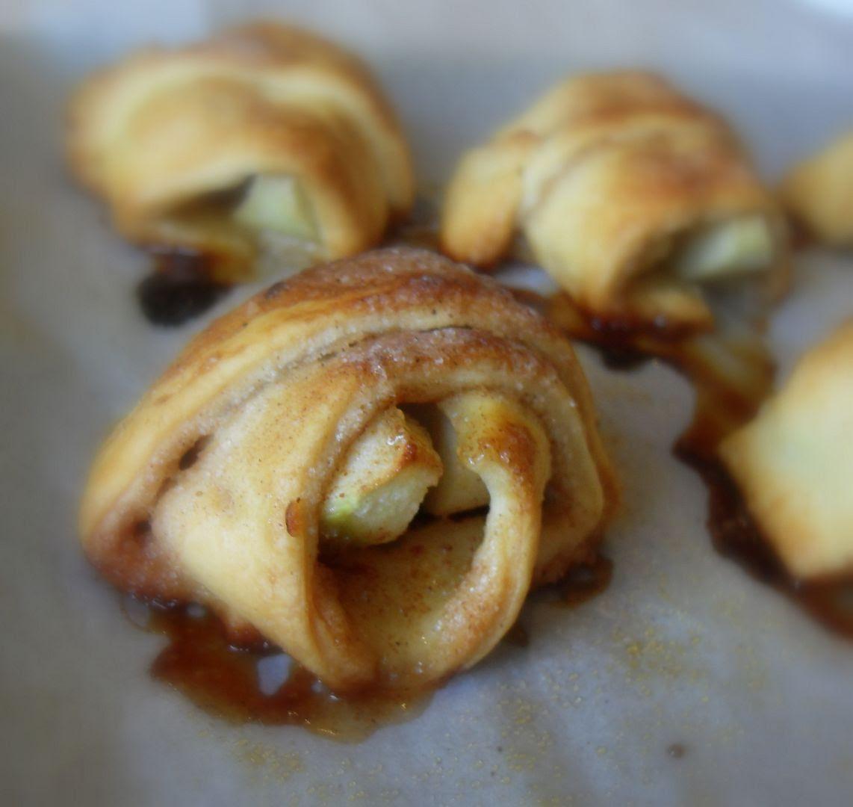 Apple Pie Roll Ups