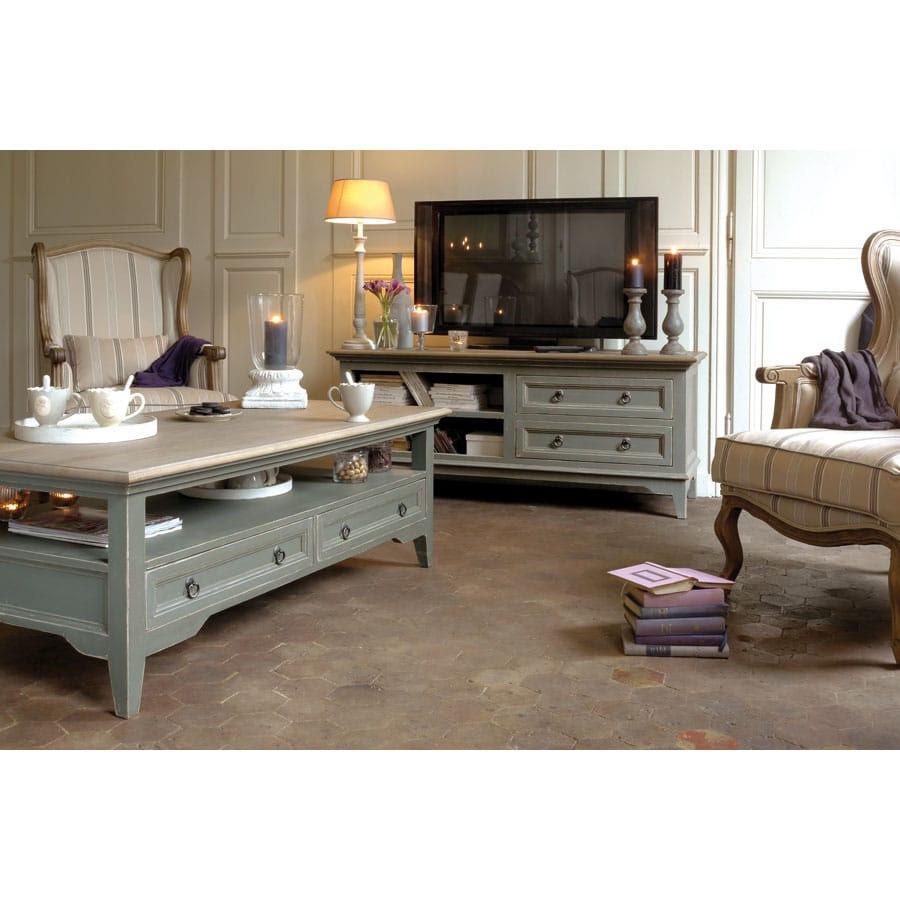 meuble tv shabby
