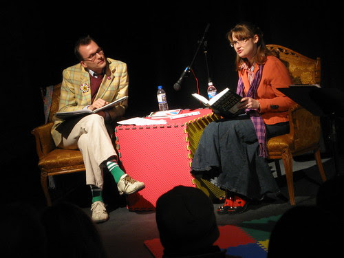 Robbie Q. Telfer and Shanny Jean Maney @ Encyclopedia Show Feb. 4 2009